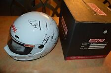 SIGNED SIMPSON 7 3/8 RACING HELMET FROM THE 1998 BRICKYARD 400!!! 20+ AUTOS!!!