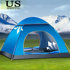 3-4 Person Automatic Pop Up Beach Sun Shade Shelter Outdoor Camping Family Tent