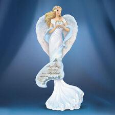 Memories of Love Angel Figurine Bradford  Thomas Kinkade