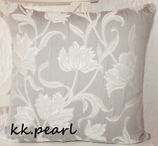 """Double Sided Elegant  Vintage Cushion Cover JOHN LEWIS  COLETTE Fabric 16"""" X 16"""""""