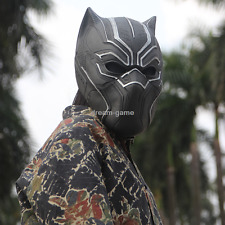 US SHIP! Marvel BLACK PANTHER Captain America Civil War Cosplay Prop Mask Helmet