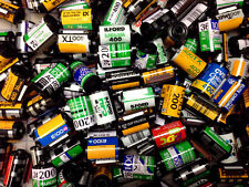 SALE - 600 Assorted empty 35mm film cassettes, Kodak, Fuji, Ilford and more