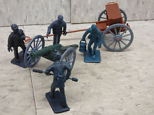 1/32 54mm Scale 6pc American Civil War US Union  Artillery / Soldiers Lot 190X