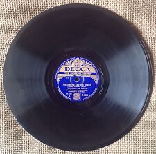 """Flanagan & Allen The Smiths And The Jones  DR.7363 F. 8325 78rpm 10"""" Shellac"""