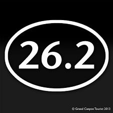 Marathon Runner Long Distance Running Jogging 26.2 Miles Decal Car Window Phone