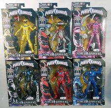Power Rangers Movie 2017 Legacy Collection Set Of 6 Figures Megazord BAF (MOC)