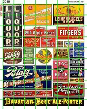 2010 HO 1:87 DAVE'S DECALS LIQUOR STORE BEER MIXED ADVERTISIG SIGNAGE