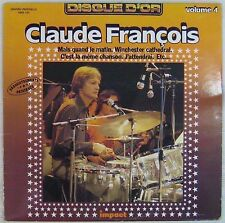 Claude François 33 tours Disque d'or 6886 185 Volume 4