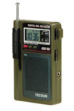 TECSUN R818 AM/FM/SW LCD Radio Receiver   (ENGLISH MANUAL)