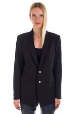 RRP €580 DIESEL BLACK GOLD Size 38 / XS GIEMEN Wool Blend Loose Blazer Jacket