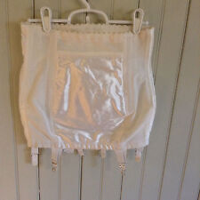 Vintage open bottom girdle w/ 6 garters w zipper