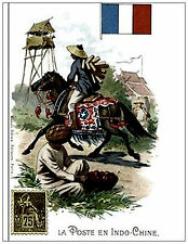 Indochine .Soldier. Vietnam Postcard. Nice Collection. Reproduction. New Unused.