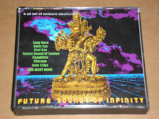 FUTURE SOUNDS OF INFINITY (LOOP GURU, OPTIC EYE, CARL COX) - 4 CD BOXSET
