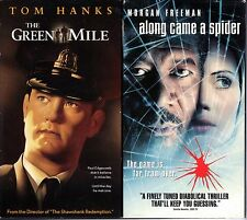 The Green Mile (2-Tape Set) & Along Came A Spider; 2 Crime Drama VHS Tapes