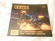 CINEFEX #109 vintage movie magazine (UNREAD - NO LABEL ) GHOSTRIDER