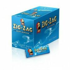 Zig Zag Blue Rolling Paper Standard Box Of 100 Booklets