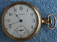 American Waltham Traveler Pocket Watch