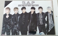BAP Photo Clear File  L Folder A4 Document Holder  KPOP Gift New back to school