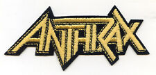 ANTHRAX LOGO CLOTH PATCH EMBLEM 2 inch x 5 inch EMBROIDERED