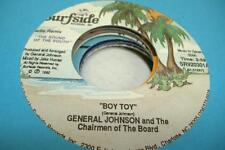 Reissue NM! 45 GENERAL JOHNSON AND THE CHAIRMEN OF THE BOARD Boy Toy on Surface