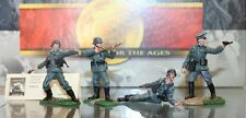 RARE CONTE MIN.  WWII   ATTACK SET. 4 FIGURES  -010  IN BOX