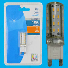 2x 3W G9 SMD LED Capsule, Ultra Low Energy Halogen Replacement Light Bulb Lamp