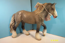 CollectA Figurine-Gray Shire Mare  Horse-New
