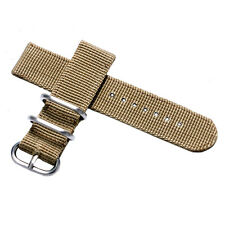 20/22mm Nylon Fabric Canvas Wrist Watch Band Strap Multi-color Classic Buckle
