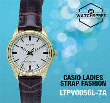 Casio Classic Series Ladies' Analog Watch LTPV005GL-7A LTP-V005GL-7A