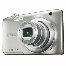 NIKON COOLPIX A100 DIGITAL CAMERA  (silver)*