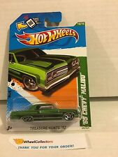 Reg Treasure Hunt * '65 Chevy Malibu  #10 of 15 * 2012 Hot Wheels * W61