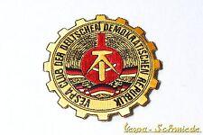 """Aufnäher """"Vespa Club der DDR"""" - Klub Deutschland GDR V50 PK PX GL Piaggio Patch"""