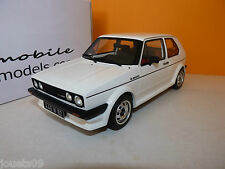 VW Volkswagen Golf GTI 16S Oettinger blanche Ottomobile OT043 1/18