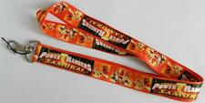 MOBILE PHONE/IDENTITY CARD LANYARD NECK STRAP ORANGE POWER RANGERS SAMURAI