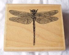 RUBBER STAMP IMPRESSION OBSESSION DRAGONFLY D1339