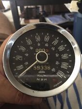 mk 1 -2  Triumph Spitfire: Smiths Speedometer w/ Reset Cable; Used; Excellent