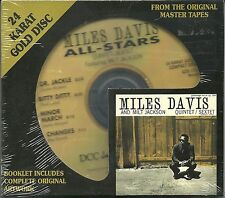 Davis, Miles All-Stars Quintet/Sextet f. M. Jackson DCC GOLD CD NEU OVP Sealed