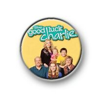 "GOOD LUCK CHARLIE / 1"" / 25mm pin button / badge / Teddy / Gabe / PJ / Toby"