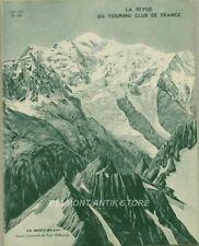 La revue du touring club de France n°499 - 1936 - Le Mont-Blanc - Le Cheylard -