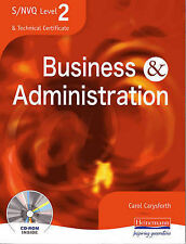S/NVQ Level 2 Business and Administration Student Book by Pearson Education...