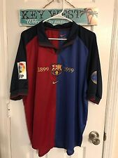 1999 Spain FC Barcelona match worn player issue jersey Guardiola shirt