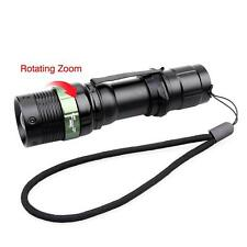 6000 LM Zoomable CREE XM-L T6 LED Flashlight 3 Modes 18650 Torch Focus Light