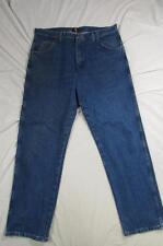 Wrangler 31MWZGK Faded Denim Jeans Tag Size 38x32 Measure 38x32 Cowboy