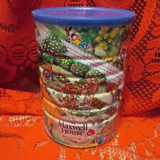 Collectors MAXWELL HOUSE COFFEE TIN,  'SPRING Series' 2005- FULL Unopened