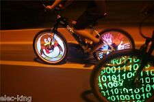 Cool DIY Pictures Bicycle Bike Front/Back Wheel Light Flash Tyre Led Wheel Light