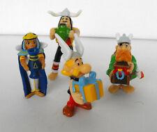Rare ASTERIX Obelix LOT OF 4 PVC FIGURES Pirates Cleopatra mint in bag