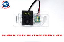 Car Reverse Rear View Camera For BMW E82 E46 E90 E91 3 5 Series E39 E53 x3 x5 X6