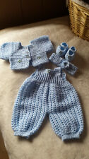 CROCHET BABY pattern for 4 piece set by 'Amy's secrets'