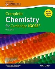 Complete Chemistry for Cambridge IGCSE ® Student book (Third edition) (Complete