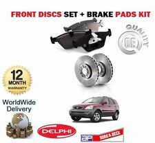 FOR KIA SORENTO 2.5DT CRDi 3.5 2003-2006 FRONT BRAKE DISCS SET + DISC PADS KIT